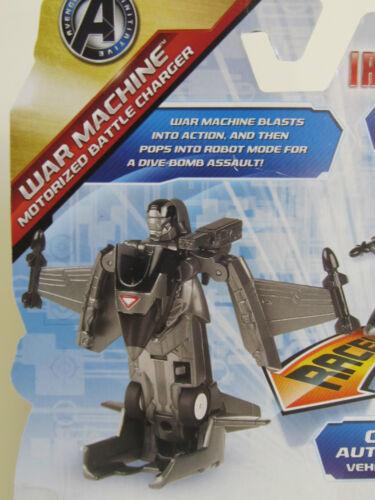 Age 4+ Marvel IRON MAN /& WAR MACHINE Motorized Battle Charger REV RACE /& CHANGE