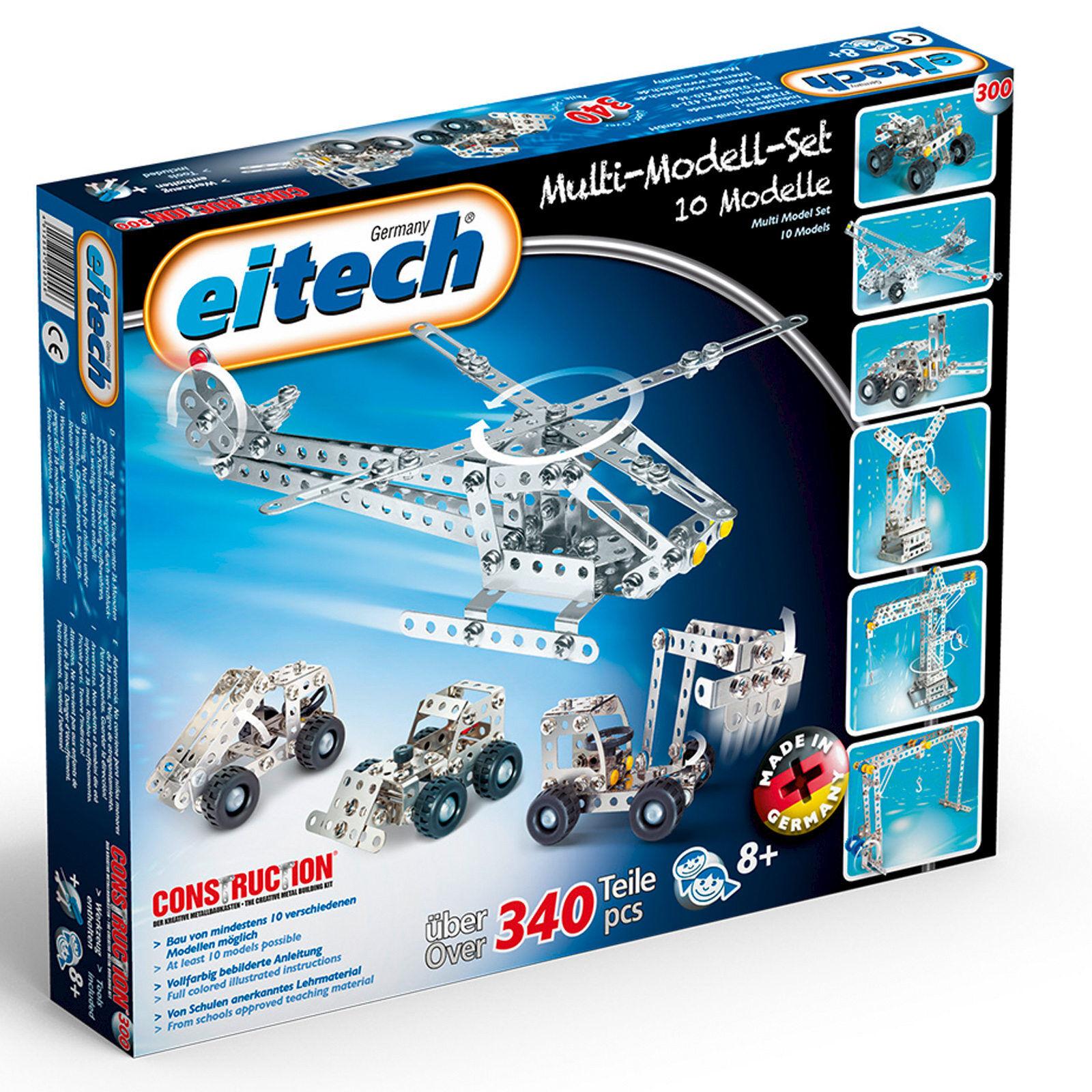 EITECH Metallbaukasten Multi Modell Set