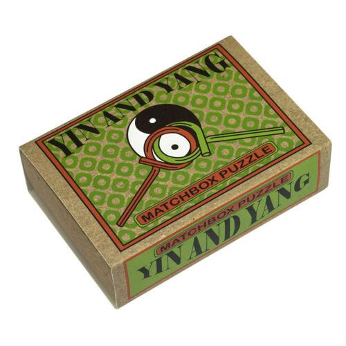 Le professeur puzzle MATCHBOX puzzles yin and yang