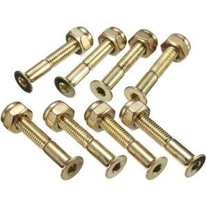 Lot-of-8Pcs-Screws-Skateboard-Nails-Gold-Skateboard-29mm-Bolts-Screws-E8F4