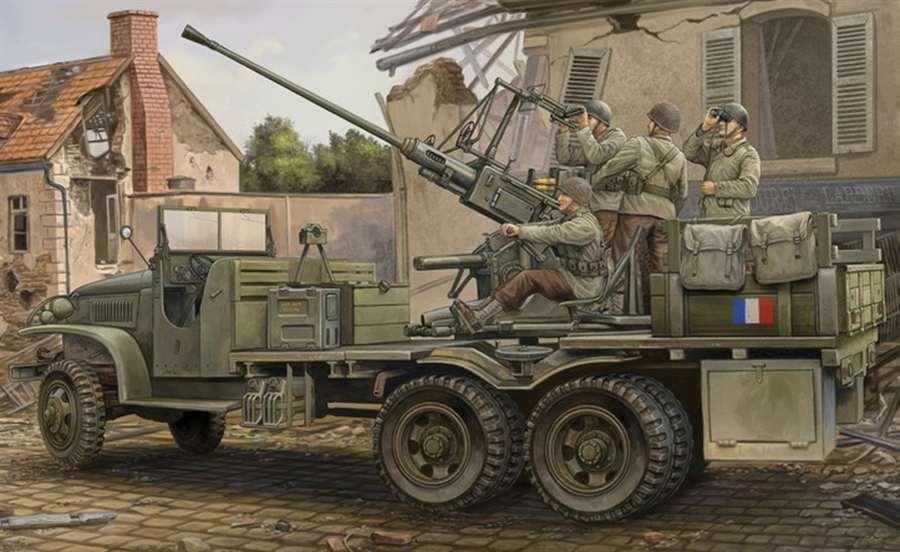 Hobby Boss HobbyBoss 1 35 GMC Bofors 40mm Gun