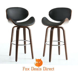 Image is loading NEW-Shankar-Luxury-Batchelor-PAIR-Of-High-Back-  sc 1 st  eBay & NEW Shankar Luxury Batchelor PAIR Of High Back Bar Stools Chairs ... islam-shia.org