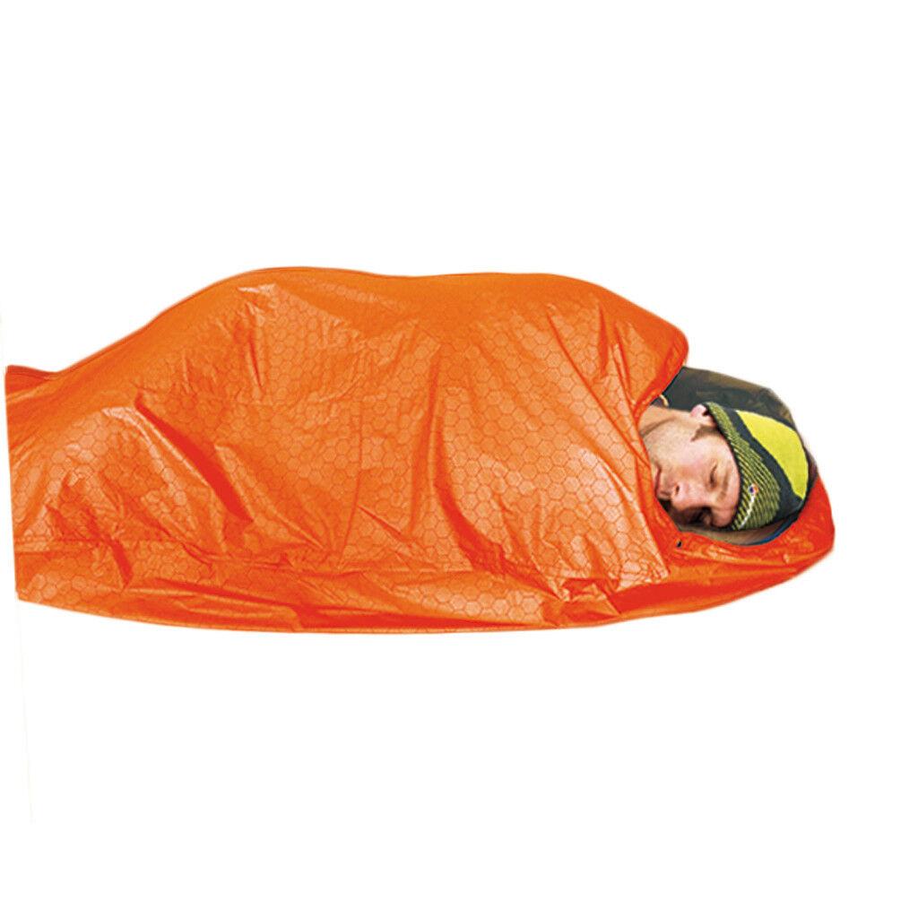 1 Outdoor Camping Emergency Survival Shelter Sleeping Bag Liner 82cm x 210cm