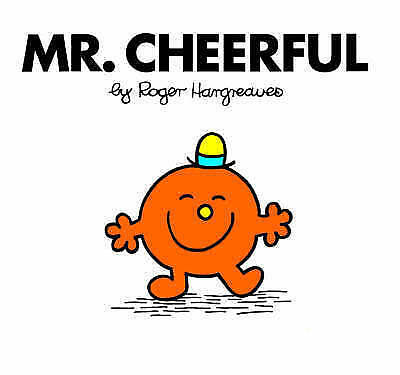 """""""AS NEW"""" Hargreaves, Roger, Mr. Cheerful (Mr. Men Library), Book"""