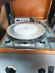 Very-Rare-Original-Ex-BBC-Garrard-301-DRD-5-Console
