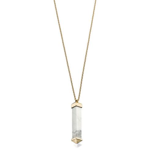 Fiorelli Costume Marble Bar Pendant Necklace RRP £49