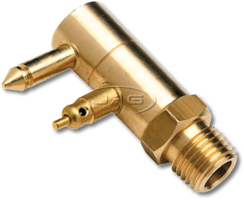 BRASS FUEL TANK END FITTING for YAMAHA /& MERCURY//MARINER-Outboard//Boat//Fuel Line