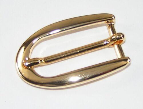 1 cierro adorno en la cintura hebilla 2 cm Gold inoxidable 00.63//542