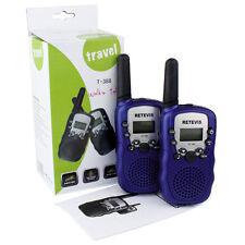 2PC Wishouse Walkie Talkie T-388 for Kids Longrange Handheld with Flashlight US
