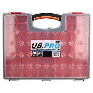 Outil-boitier-de-rangement-avec-20-compartiments-amovibles-Organisateur-en-Plastique-Etui