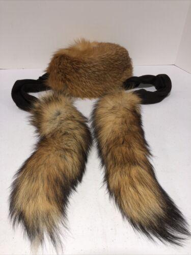 Vintage 1960s NAN DUSKIN Philadelphia Real Fur Hat