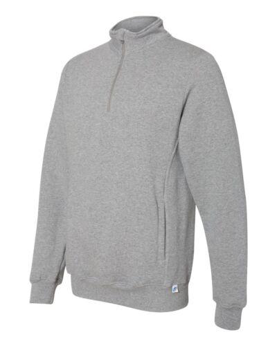 Russell Athletic Dri Power Quarter-Zip Cadet Collar Sweatshirt 1Z4HBM S-3XL