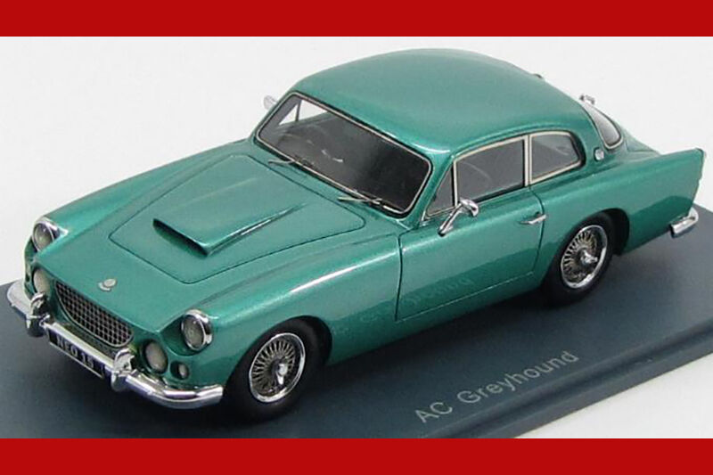 AC Greyhound 1959 Green metallic Neo scale models 1 43 NEO45015
