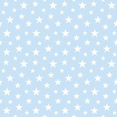 Tapete Vlies Sterne blau weiß Everybody Bonjour 138729 5,96€//1qm