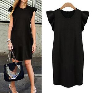 New-Womens-Ladies-Party-Club-Dress-Clubwear-AU-Size-12-14-16-18-20-22-24-922N