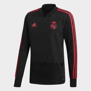 6ed8fc18e Adidas Men s Real Madrid Ultimate Soccer Training Top (Black Coral ...