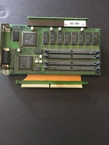 VINTAGE APPLE LITE VRAM 128K X 8 BOARD CARD 820-0522-A  With A Cable Connection.