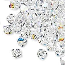 144 Swarovski Crystal 3mm Xilion Faceted Bicone Double Cone Beads W/ Facets A-K