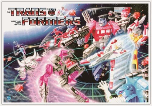 Ocean Transformers G1 style Posters,6 Posters,In stock!