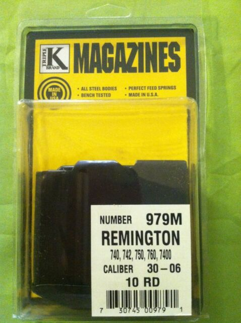 Remington 270 Win Magazine Will Fit 740 7400 742 760 7600 Blued for Semi or  Pump