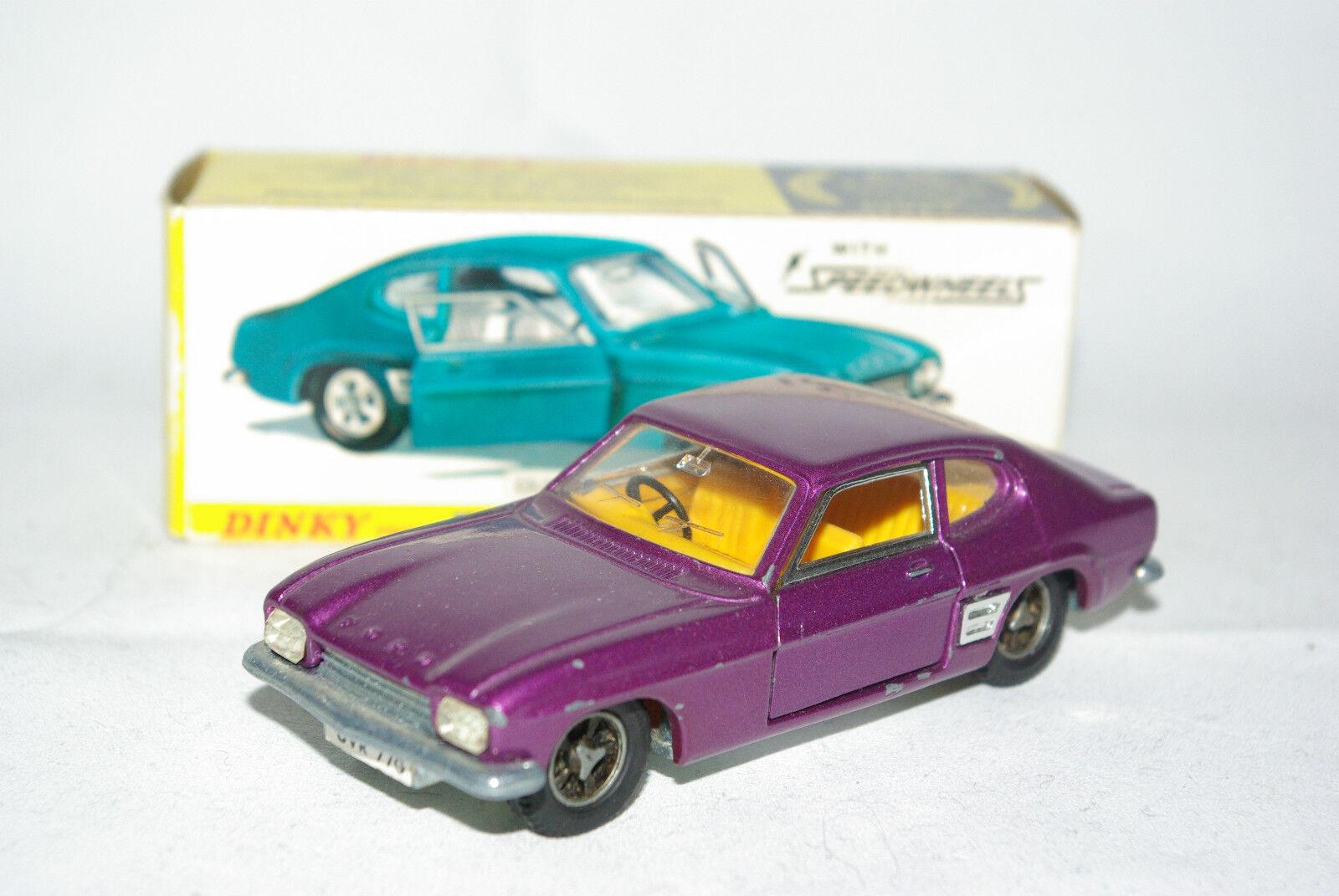 DINKY TOYS 165 FORD CAPRI violet NEAR MINT BOXED RARE SELTEN RARO