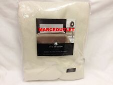 HOTEL COLLECTION Luxury MicroCotton FULL / QUEEN Blanket Ivory