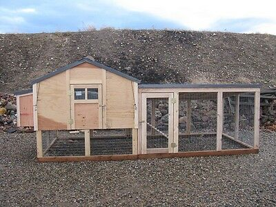 Chicken Coop Plans with Kennel Run Material List