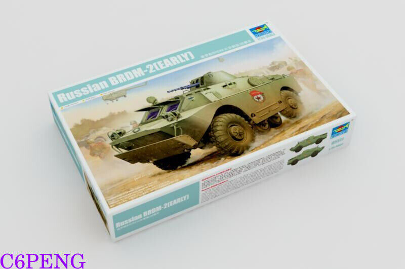 Trumpeter 05511 1 35 Russian BRDM-2 (Early) Hot