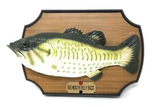 Vintage-1999-Original-Big-Mouth-Billy-Bass-Singing-Fish-NOT-WORKING-FOR-PARTS