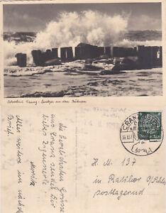 Cranz-Ostpreussen-AK-schoener-Stempel-30-7-37-stampsdealer