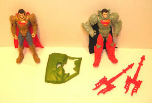 Superman-Man-of-Steel-AUTO-ASSAULT-amp-KRYPTON-COMBAT-Complete-4-034-Movie-2013