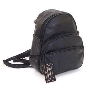 New-Leather-Backpack-Purse-Sling-Bag-Back-Pack-Shoulder-Handbag-Organizer-Pocket
