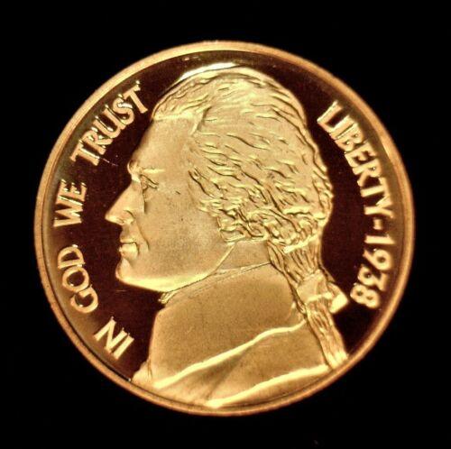 1 oz Copper Round Jefferson Nickel 1938 #144