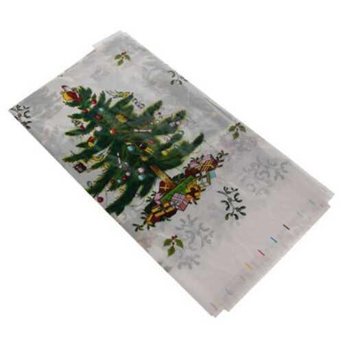 110*180cm dernier jetables Noël Nappe couvre la belle nappe