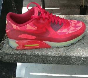 best sneakers 485f1 d0efd Details about Nike air max 90 ice gym red sz 12