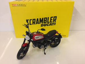 Ducati Scrambler Icône 2015 Rosso 1:12 Échelle Neuf Tsm