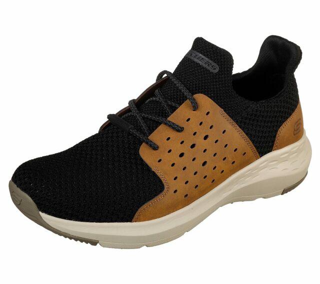 Parson Schwarz Herren Trainingsschuhe Sneakers Neu Skechers Freizeitschuhe EWD9I2HY