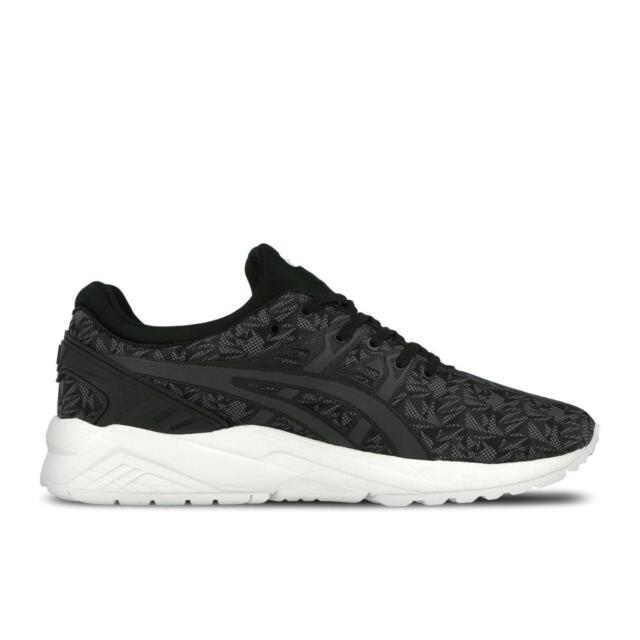 wholesale dealer cc086 074bb Mens ASICS GEL KAYANO TRAINER EVO Black Trainers H621N 9016