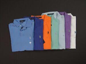 de6aae33 POLO RALPH LAUREN Men Custom Slim Fit Mesh Polo Shirts NEW NWT | eBay