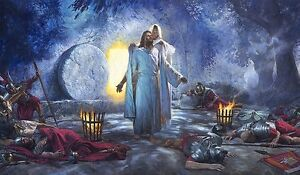 nathan greene the resurrection jesus christ easter morning 30x40