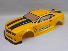 "RC Car carrocería 1:10 ""us Muscle car"" naranja metalizado 190mm # hx046"