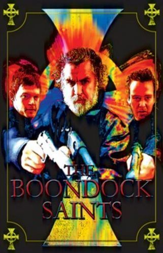 MOVIE POSTER The Boondock Saints Blacklight