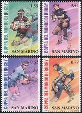 San Marino 2003 Rugby World Cup Championships/WC/Sport/Games 4v set (n44762)