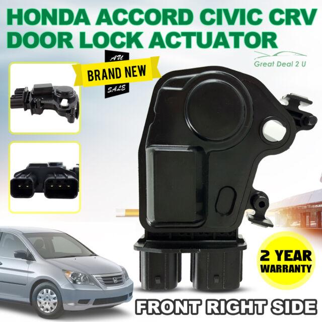 HONDA CRV ACCORD ODYSSEY CIVIC INTEGRA ACURA DOOR LOCK ACTUATOR FRONT RIGHT