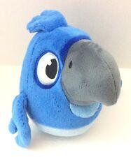 """Angry Birds Rio -  Blue 10"""" Bird Plush Stuffed Animal"""