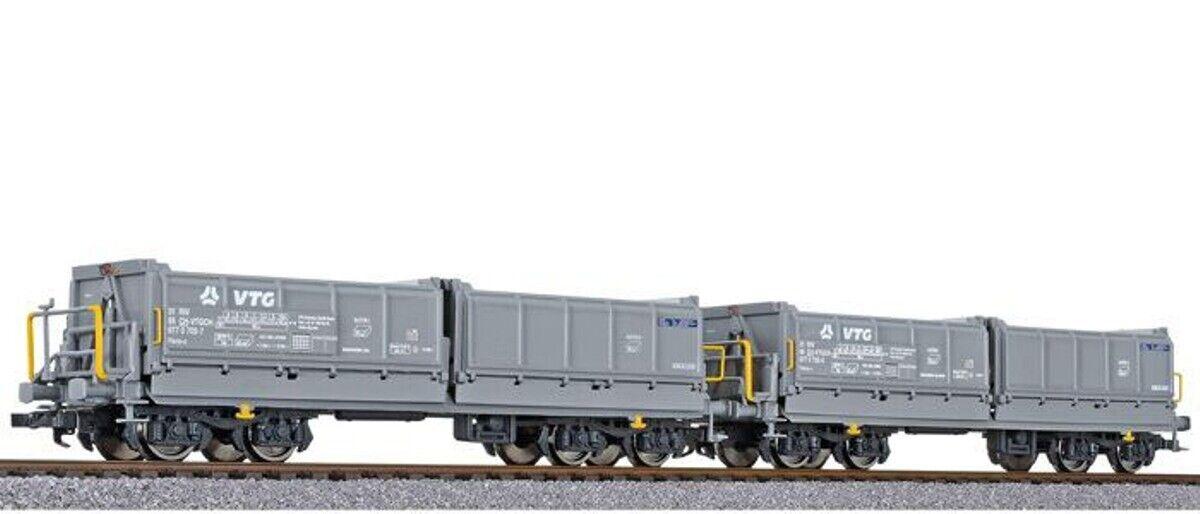 HS Liliput l230156 Set pozzetti Kipp auto 2 pezzi costruzione tifosi-U delle SBB EP VI