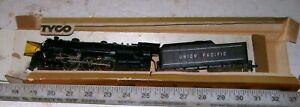Vintage-TYCO-MANTUA-HO-Cast-Metal-4-6-2-PACIFIC-Steam-Locomotive-amp-Tender-Train