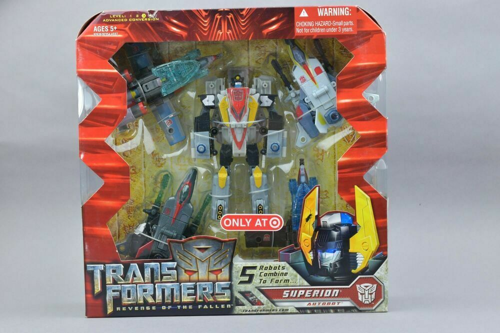 NEW - Transformers Revenge of the Fallen - Combiner - SUPERION (Target)