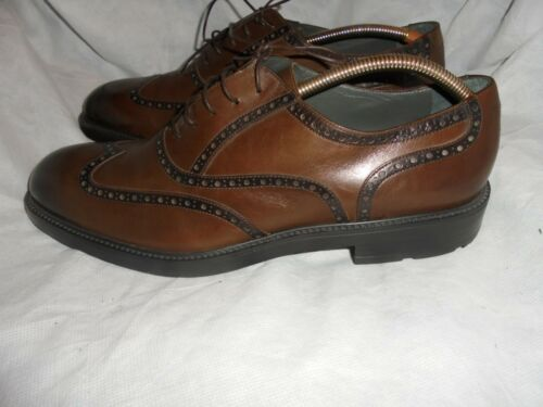 Moreschi Shoes Brown 45 Uk Oxford Leather Size Vgc Up Men Eu 11 Lace rZqnwBxYrC