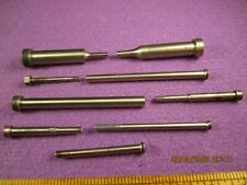 Machinist Tools 9 Pc Lot Plastic Injection Mold Machines Small Ejector Pins
